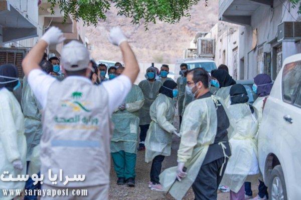 المسح النشط في مكة والمدينة