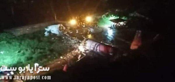 حادث الطائرة الهندية المنكوبة
