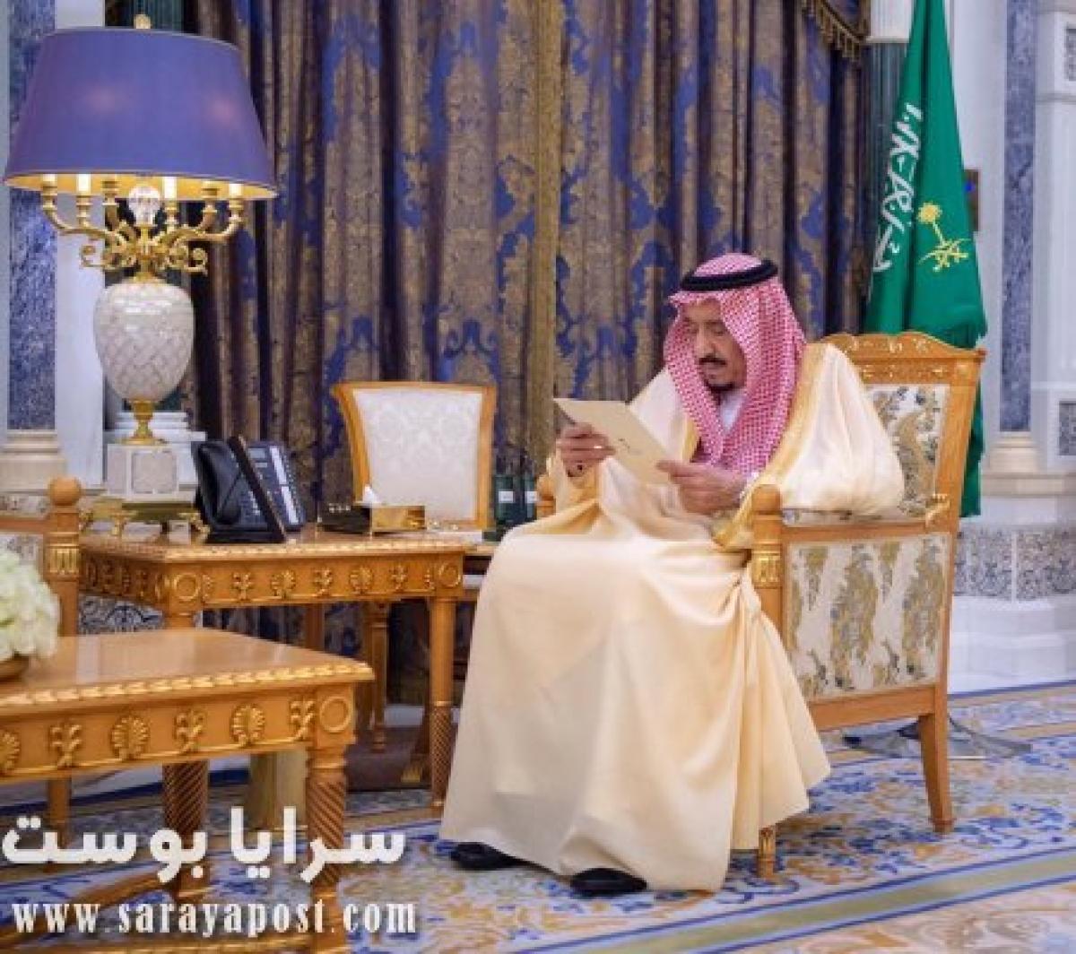 شاهد الملك سلمان يرد على شائعة وفاته بالفيديو