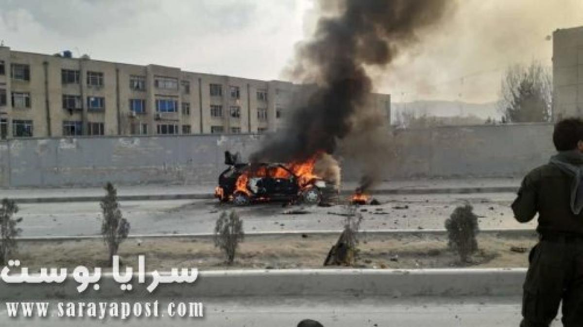 داعش يقصف الرئيس الأفغاني بالصواريخ أثناء أدائه القسم (صور)