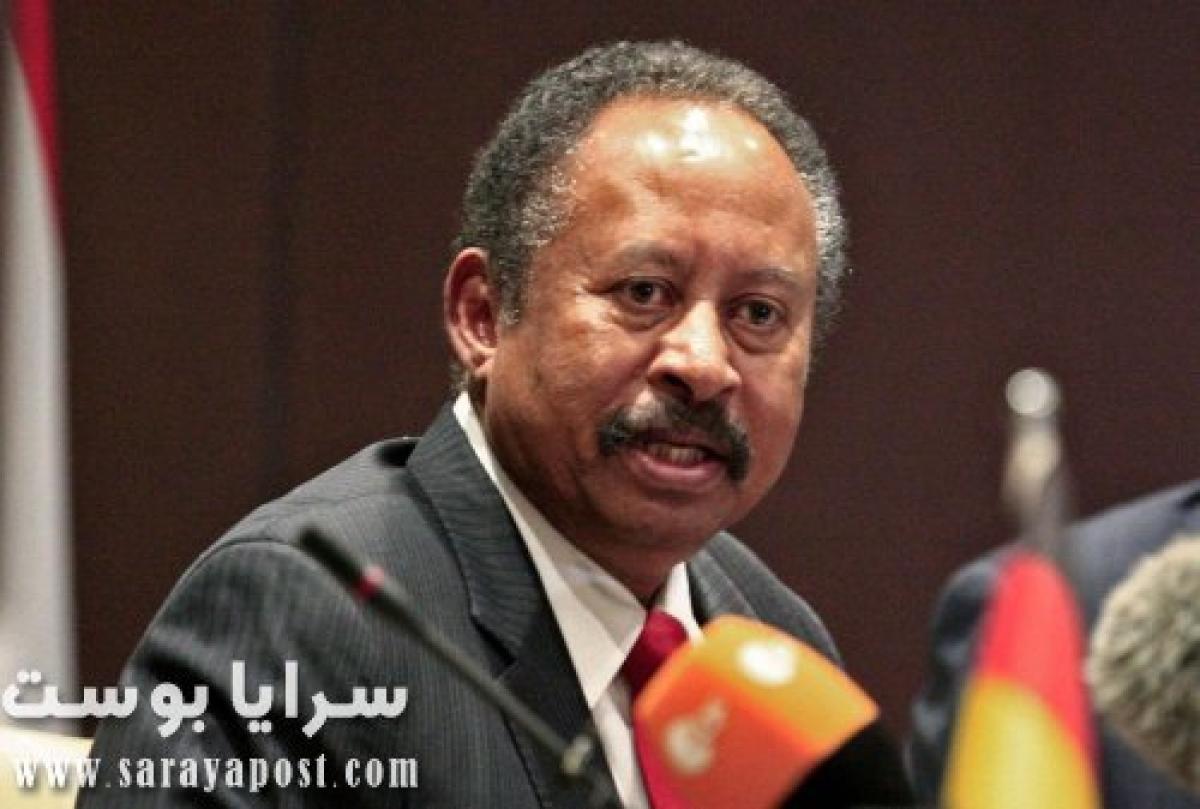 رئيس الحكومة السودانية يعلق على محاولة اغتياله.. ماذا قال؟