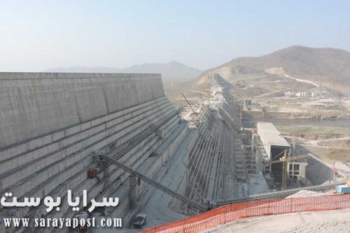 إثيوبيا تستفز مصر بنشر أحدث صور ترصد ضخامة سد النهضة (شاهد)