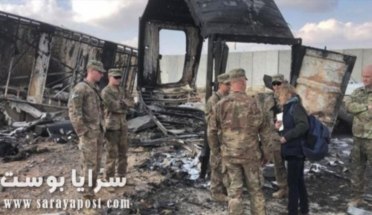 بالصور.. قصف قاعدة عسكرية أمريكية في العراق بـ10 صواريخ