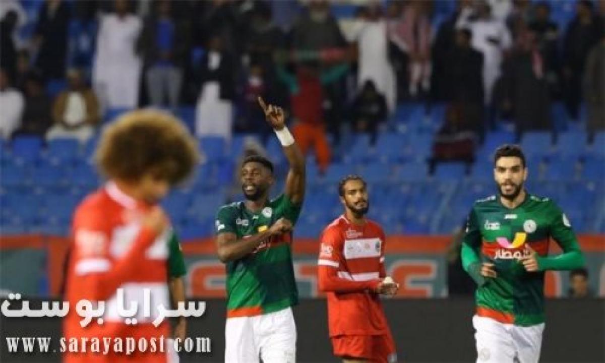 يلا شوت الجديد.. نتيجة مباراة الاتفاق والشباب في الدوري السعودي اليوم