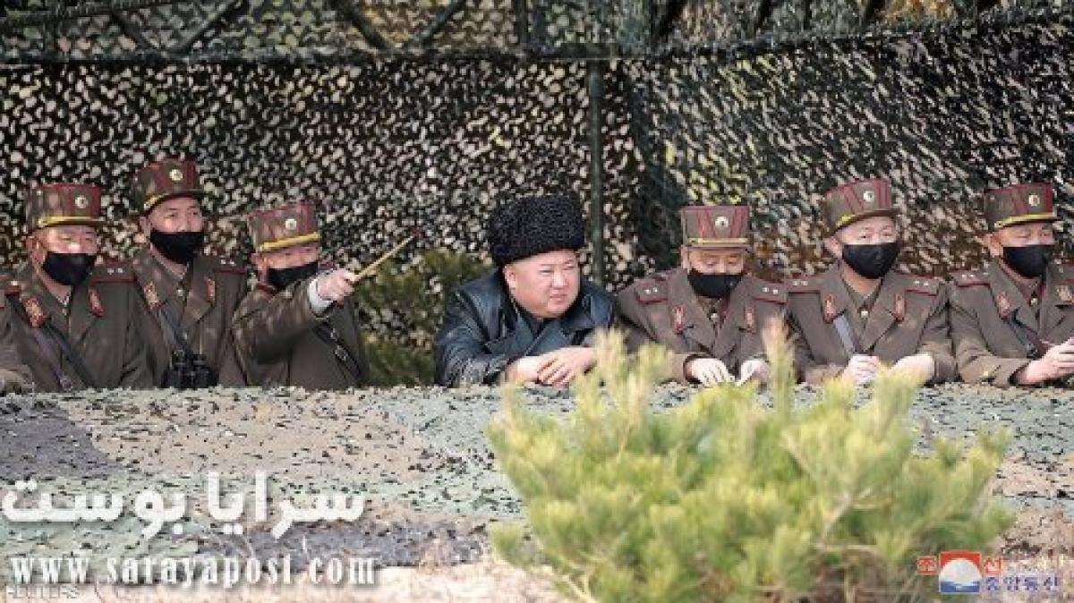 أبو قلب ميت.. شاهد زعيم كوريا الشمالية يتحدى فيروس كورونا
