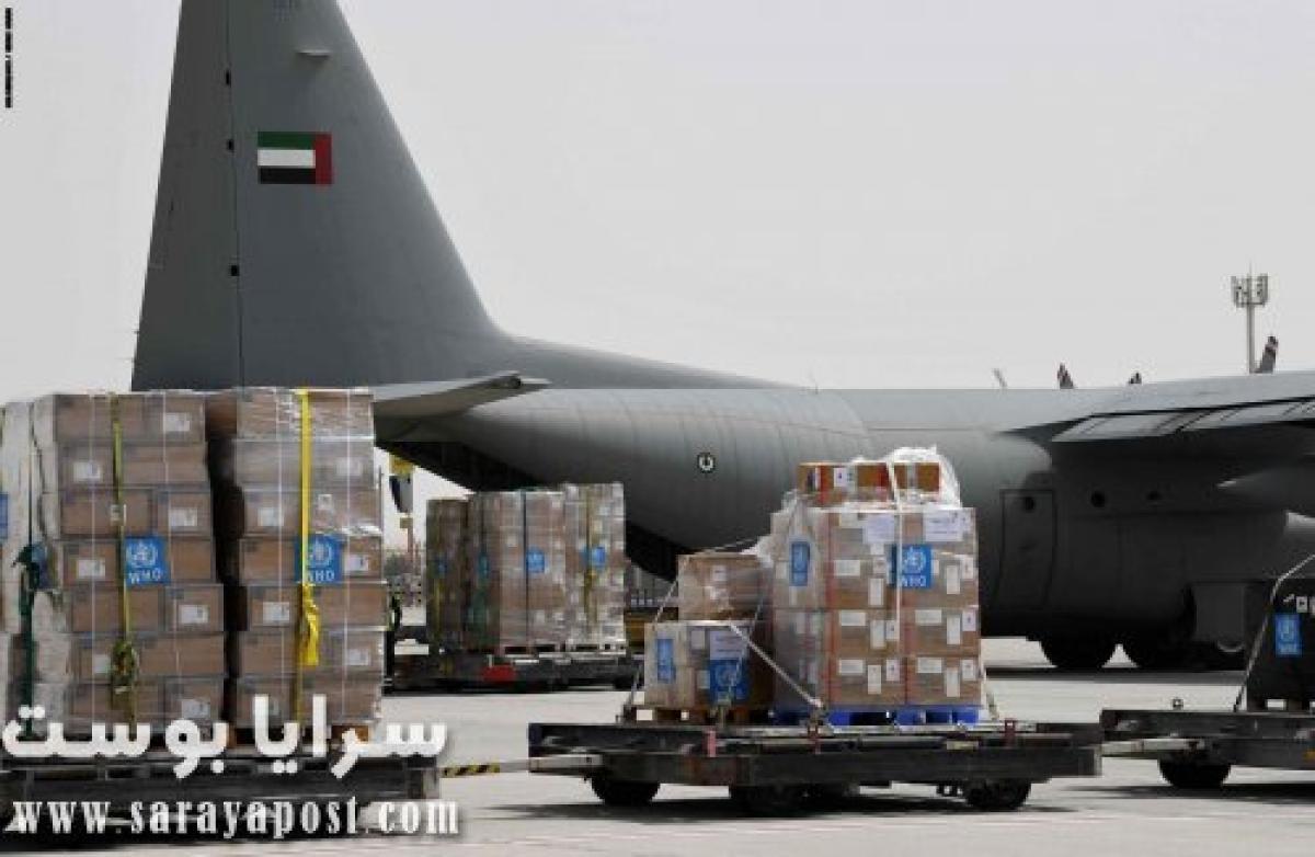 الإمارات ترسل طائرات لإيران للمشاركة في جهود مكافحة كورونا