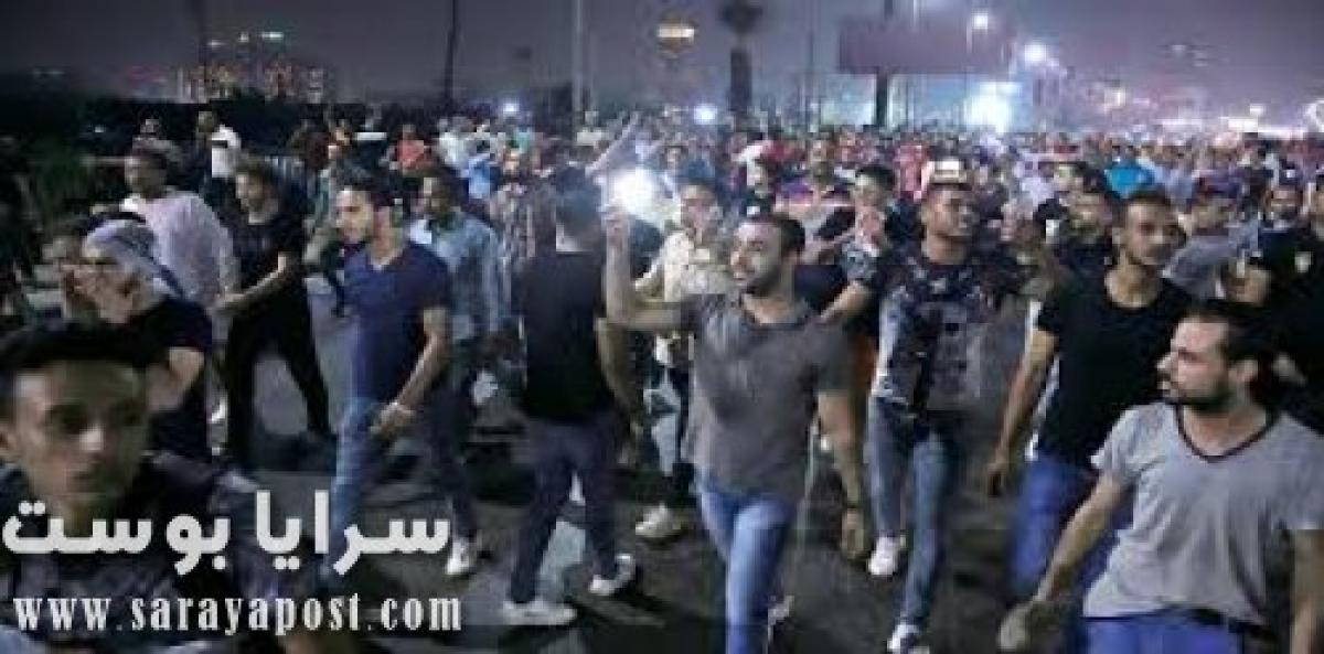 الله أكبر.. شاهد مظاهرات المصريين ضد كورونا (فيديو)
