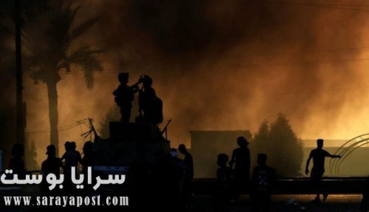 يحدث الآن.. السفارة الأمريكية في بغداد تتعرض لهجمات صاروخية (فيديو)