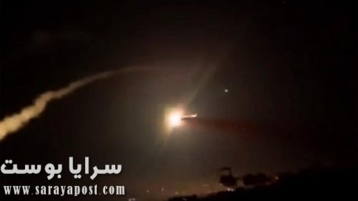 الدفاع الجوي السوري يتصدى للطيران الحربي الإسرائيلي