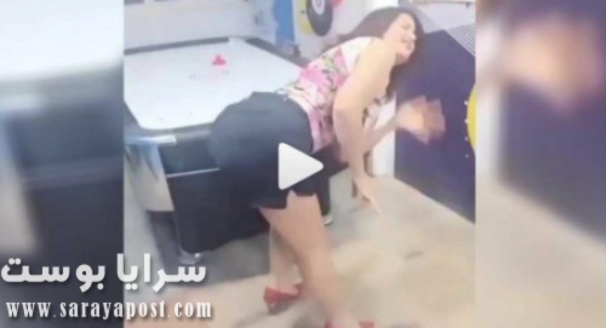"""بالفيديو .. سما المصري ترقص على """"عود البطل"""" بالهوت شوت!"""