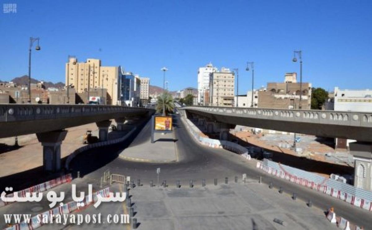7 صور ترصد أحوال المدينة المنورة بعد منع التجول على مدار 24 ساعة