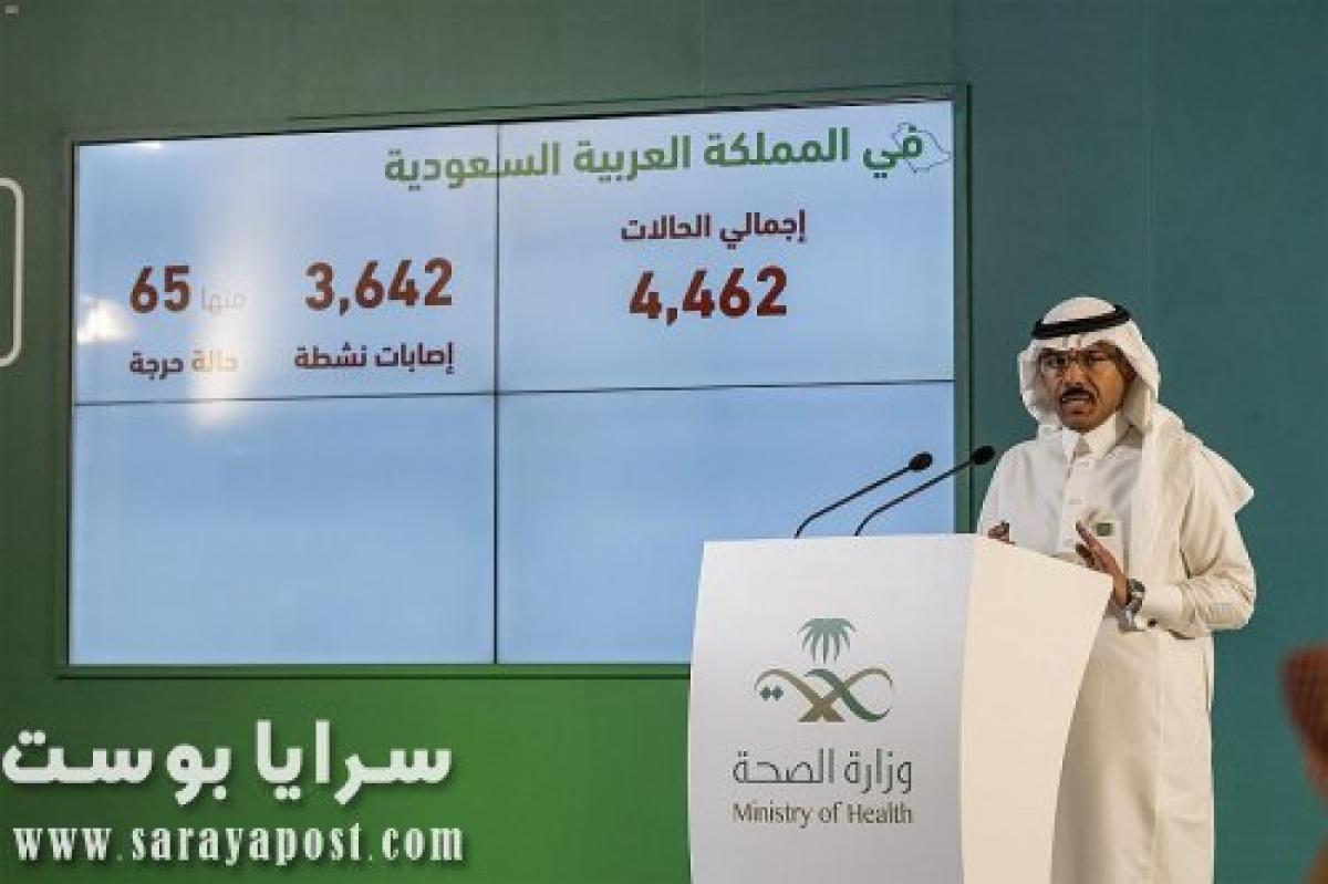 عدد الإصابات بفيروس كورونا في السعودية اليوم الثلاثاء