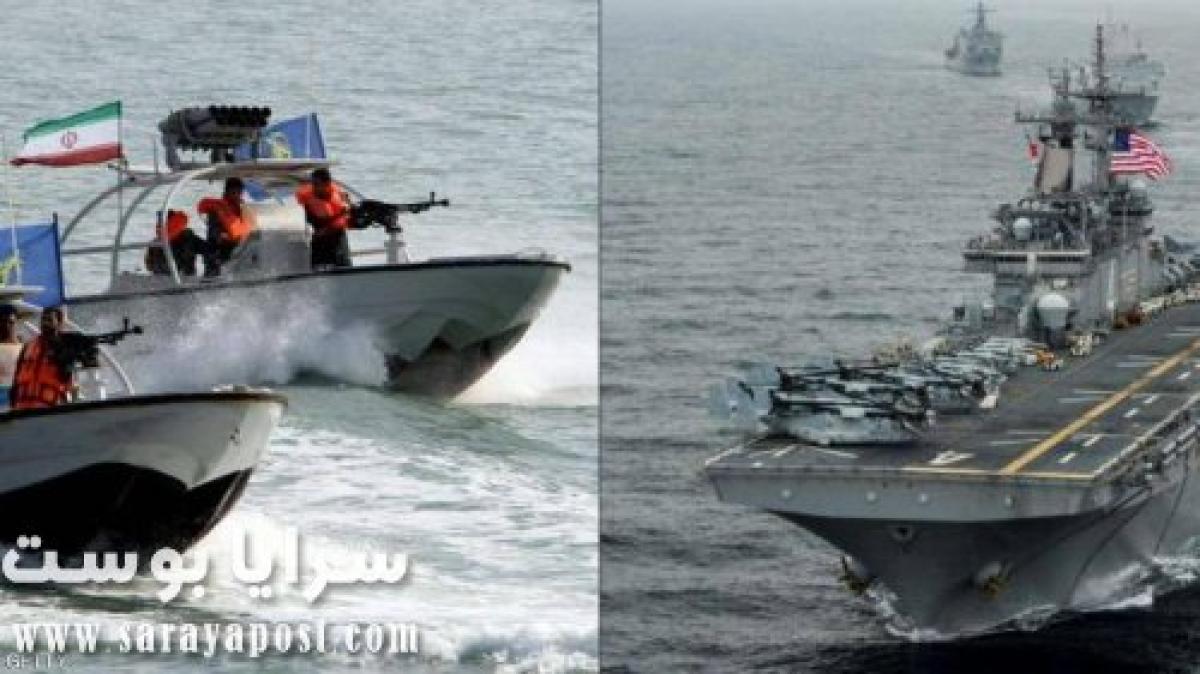الجيش الأمريكي: 11 زورقا حربيا إيرانيا تتحرش بالسفن الأمريكية في الخليج