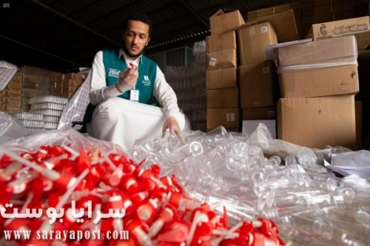ضبط مصنع معقمات يستخدم مواد شديدة الضرر في السعودية (صور)