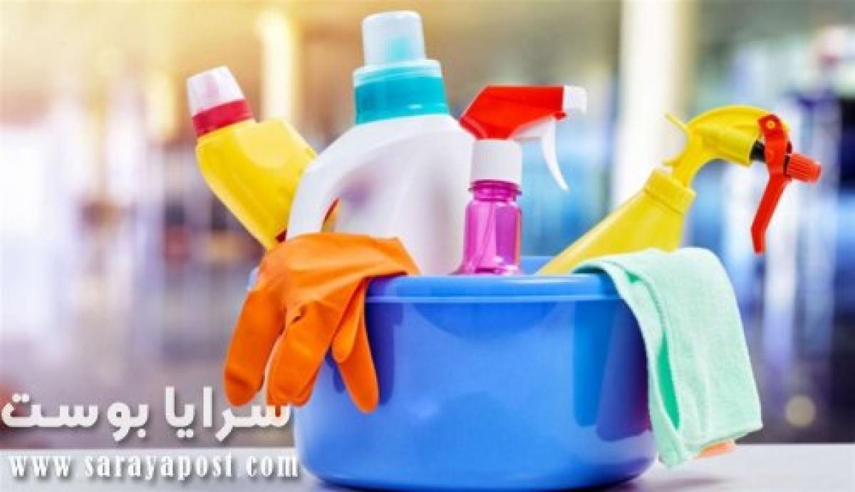 مواد تنظيف يجب الحذر عند استخدامها في تنظيف المطبخ