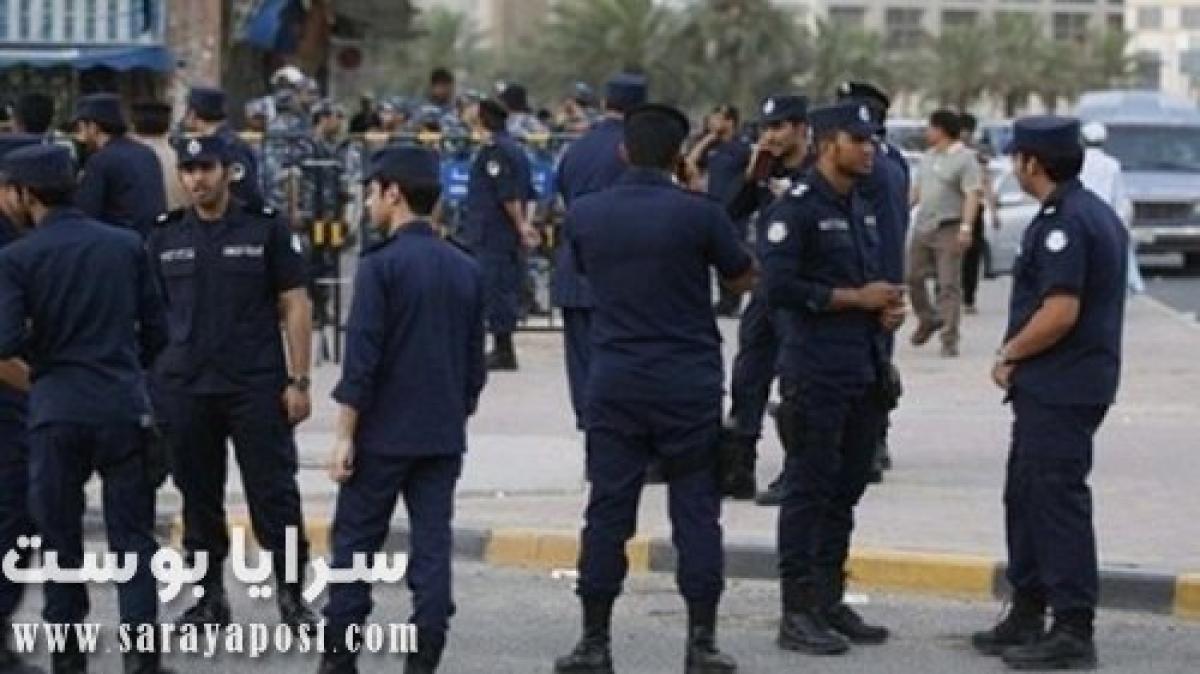 لحظة اعتداء قوات الأمن الكويتي على المصريين العالقين في الجهراء