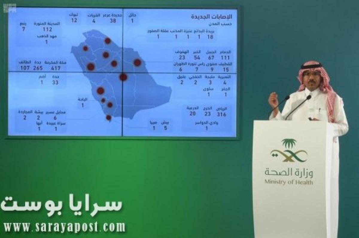 بالأرقام الجديدة.. مناطق السعودية الأشد خطرا بسبب انتشار كورونا