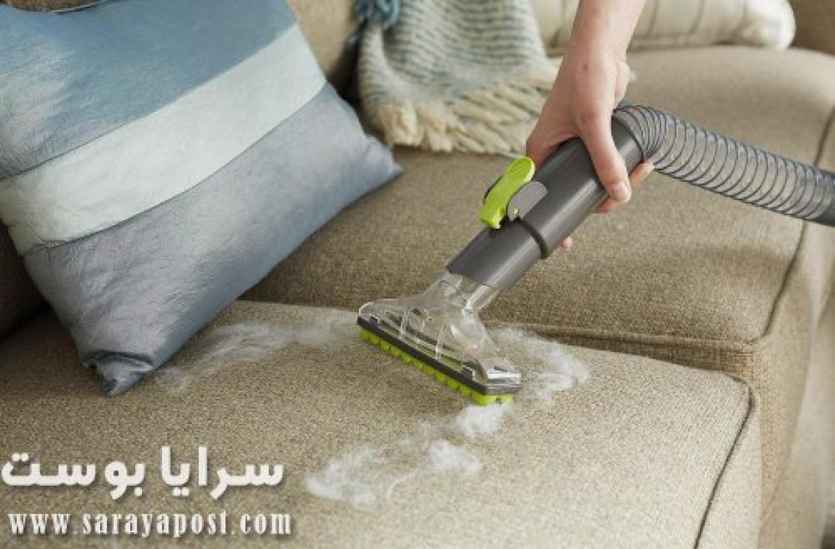 طريقة تنظيف الحبر من الكنب بطرق منزلية سهله
