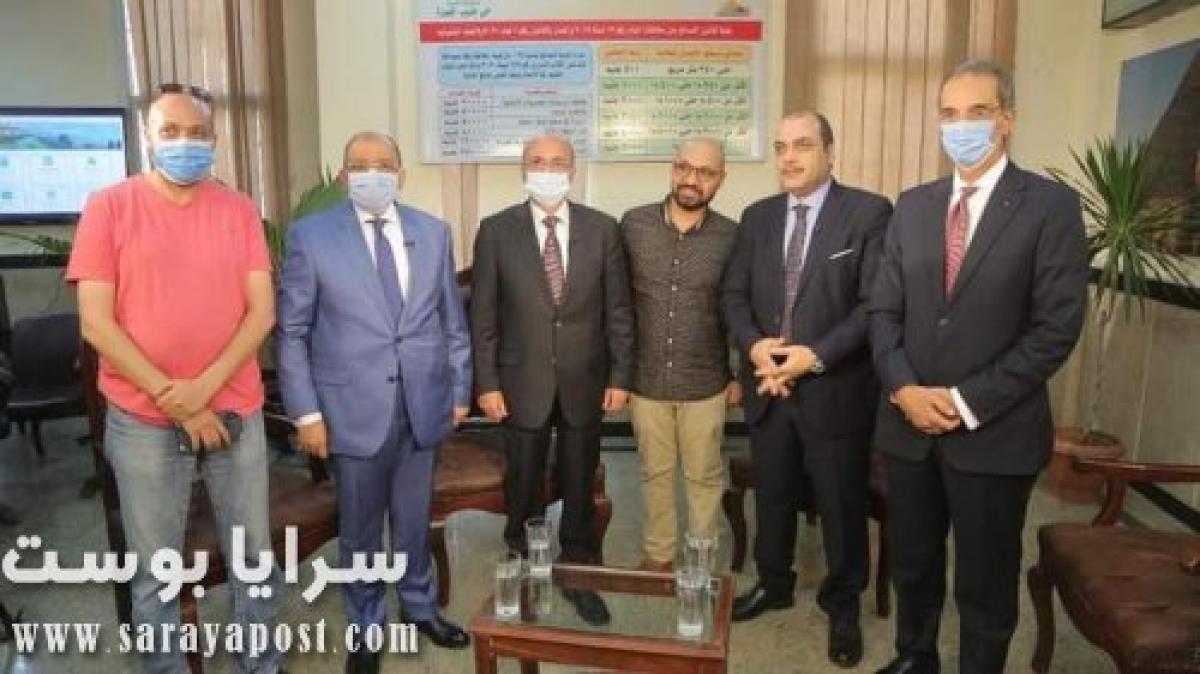"""حازم عادل: مجلس وزراء مصغر في """"آخر النهار"""" مع محمد الباز (صور)"""