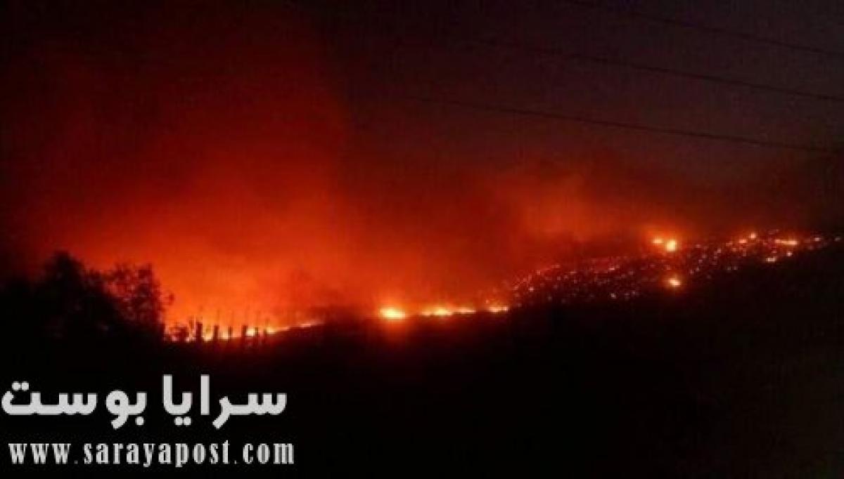 سبب حريق السوده اليوم.. والداخلية السعودية: مقاطع قديمة من حريق وادي بيش