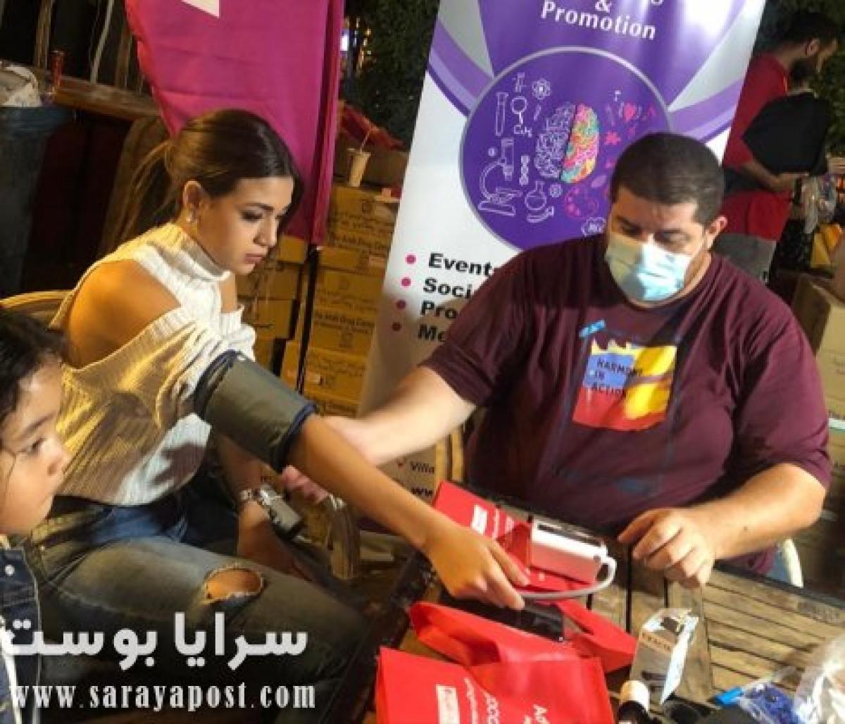 الشركة العربية للأدوية تطلق حملة توعية للمرأة بنادي الأهلى بحضور ملكة جمال مصر