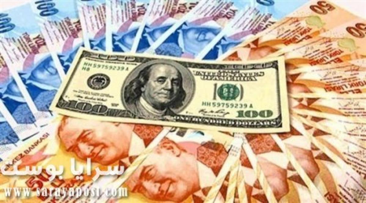 سعر الدولار مقابل الليرة التركية اليوم