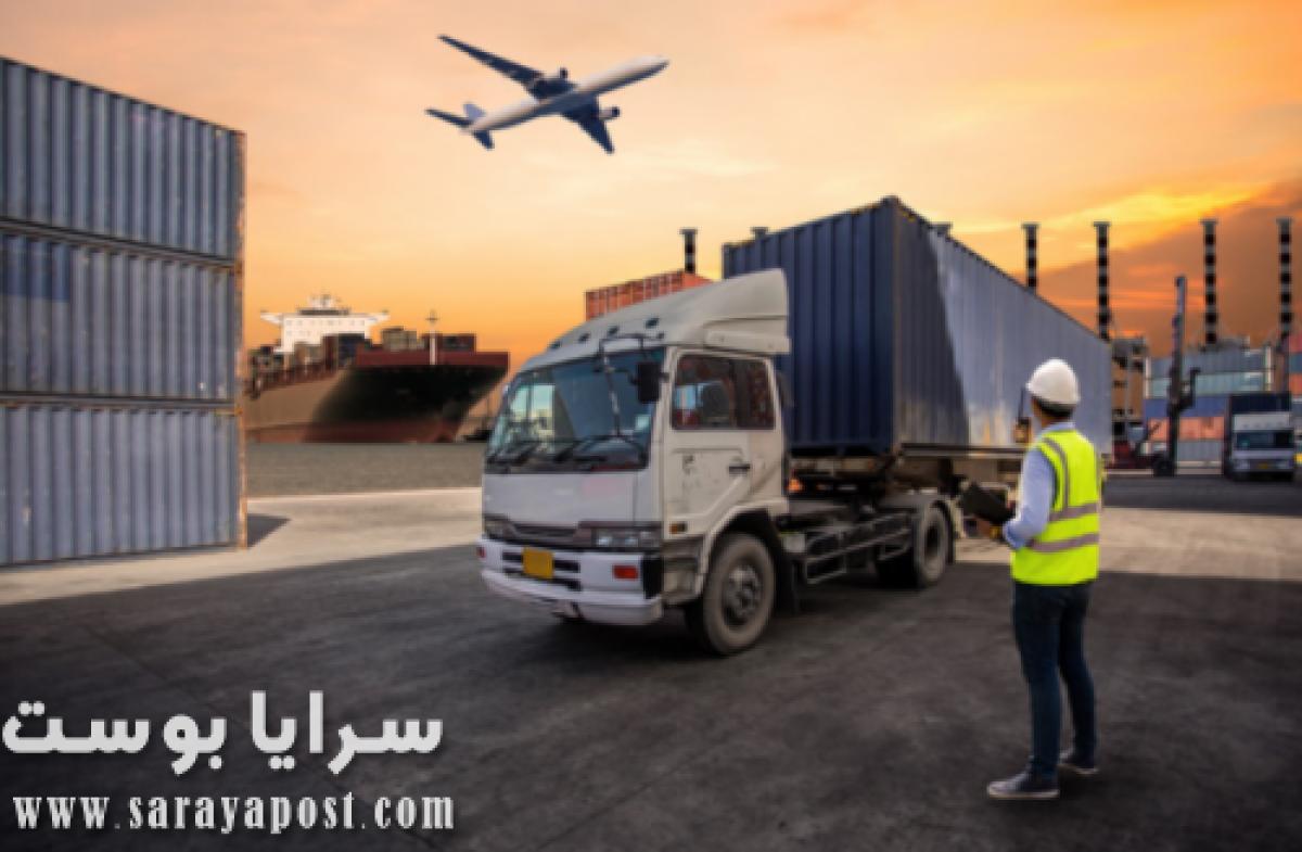 النقل أو الخدمات اللوجستية في السعودية