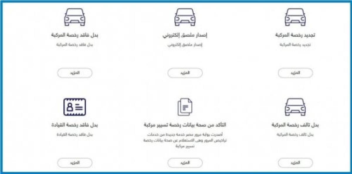 تجديد رخصة القيادة في مصر 2021 الإجراءات والرسوم المطلوبة للتجديد إلكترونياً