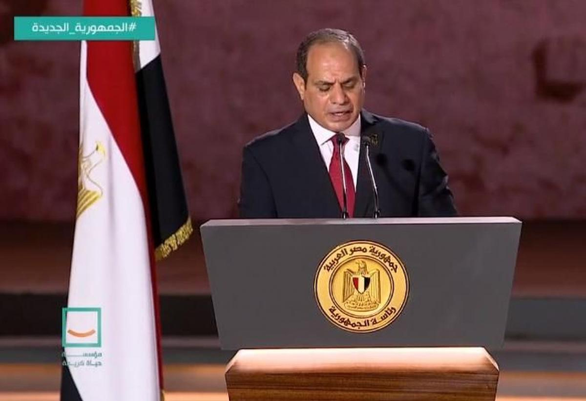 الرئيس السيسي يجدد العهد أمام الشعب المصري بالعمل من أجل الوطن وصالحه بوابة الأسبوع