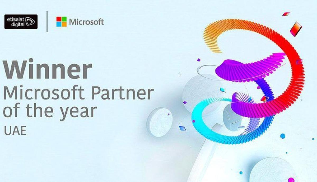 «اتصالات ديجيتال».. أفضل شريك أعمال لـ «مايكروسوفت» في الإمارات خلال 2021