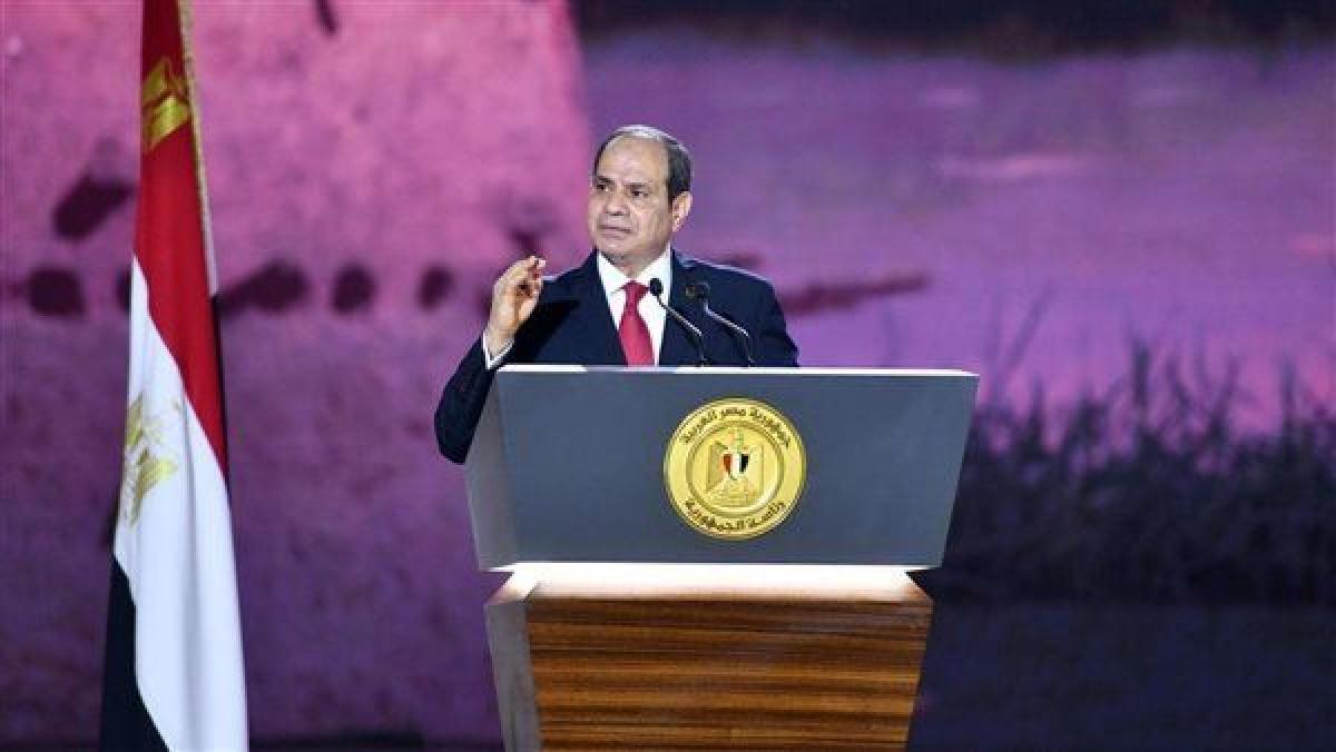 حياة كريمة.. السيسي: أمن مصر القومي خط أحمر
