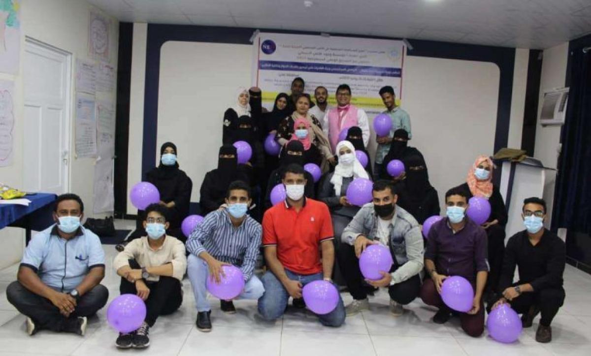 اختتام تدريبي لـ (20) مشاركا تنظمه مؤسسة وجود لمديريات الشيخ عثمان ، دار سعد، المنصورة و البريقة.