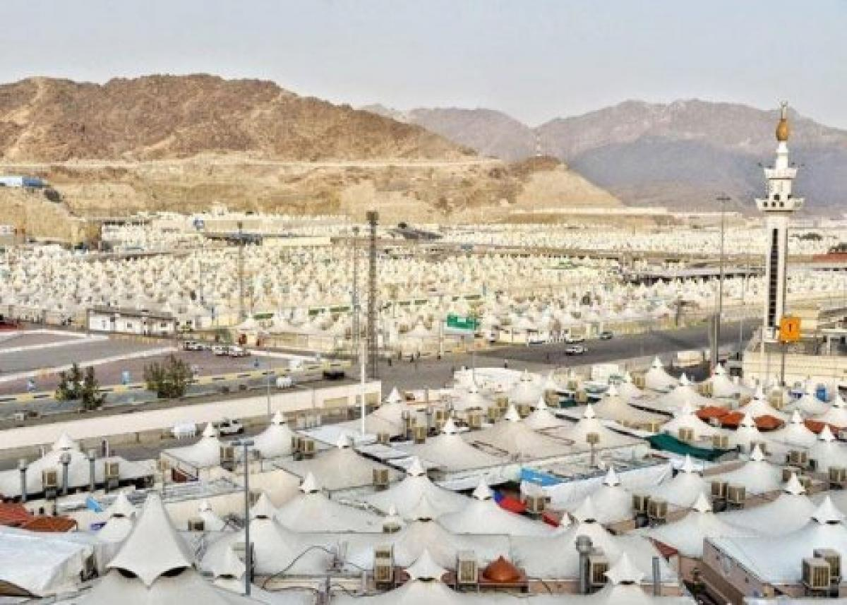 حالة الطقس ودرجات الحرارة في مكة والمدينة ومشعر منى