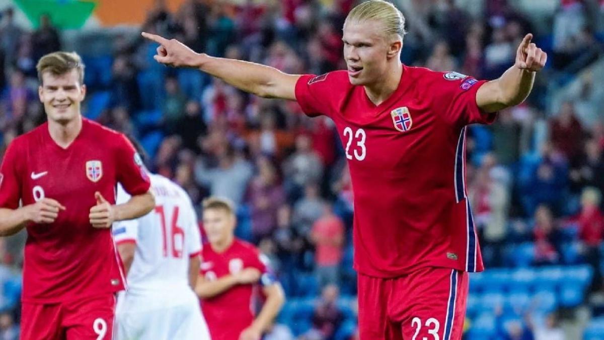 هالاند يصدم النرويج قبل الاختبار التركي في تصفيات مونديال 2022