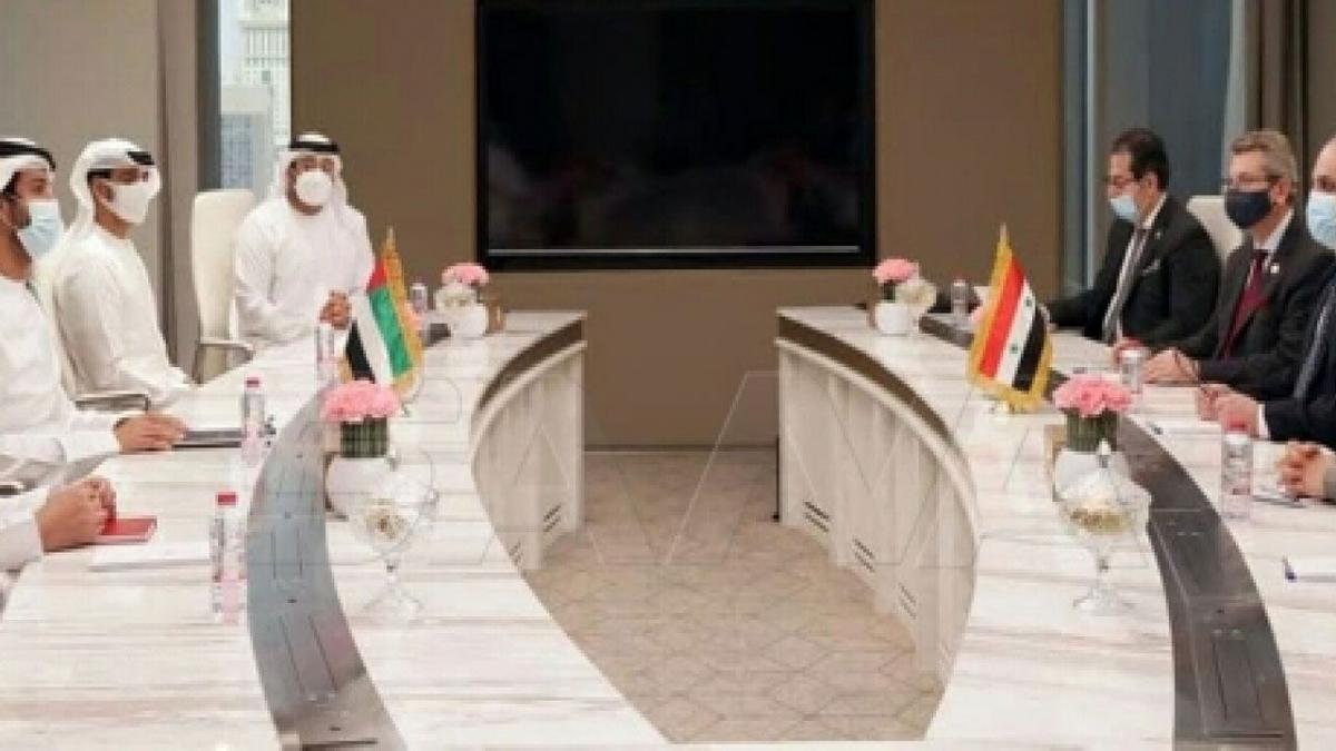 مباحثات سورية - إماراتية لإعادة تفعيل مجلس رجال الأعمال بين البلدين