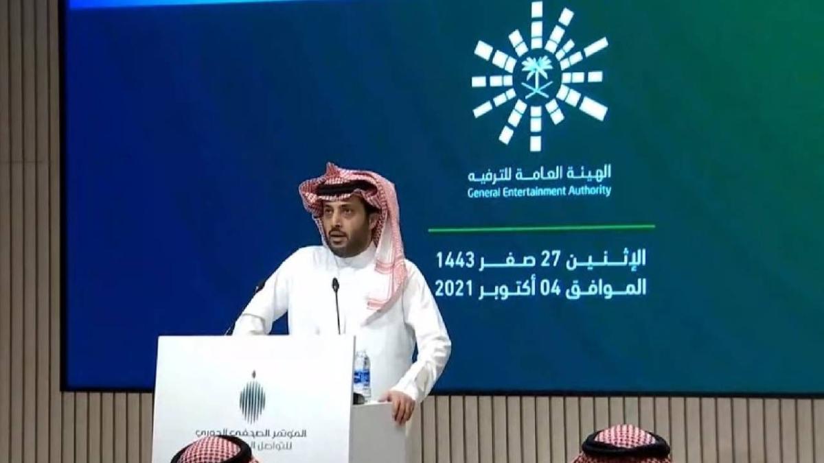 رئيس هيئة الترفيه يعلن إطلاق موسم الرياض في نسخته الثانية 20 أكتوبر