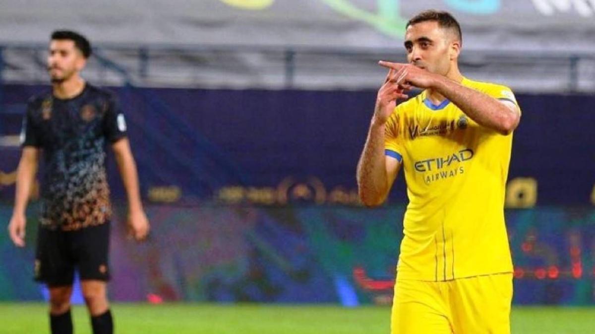 الكشف عن موقف عبدالرزاق حمد الله من المشاركة في مباراة الوحدة