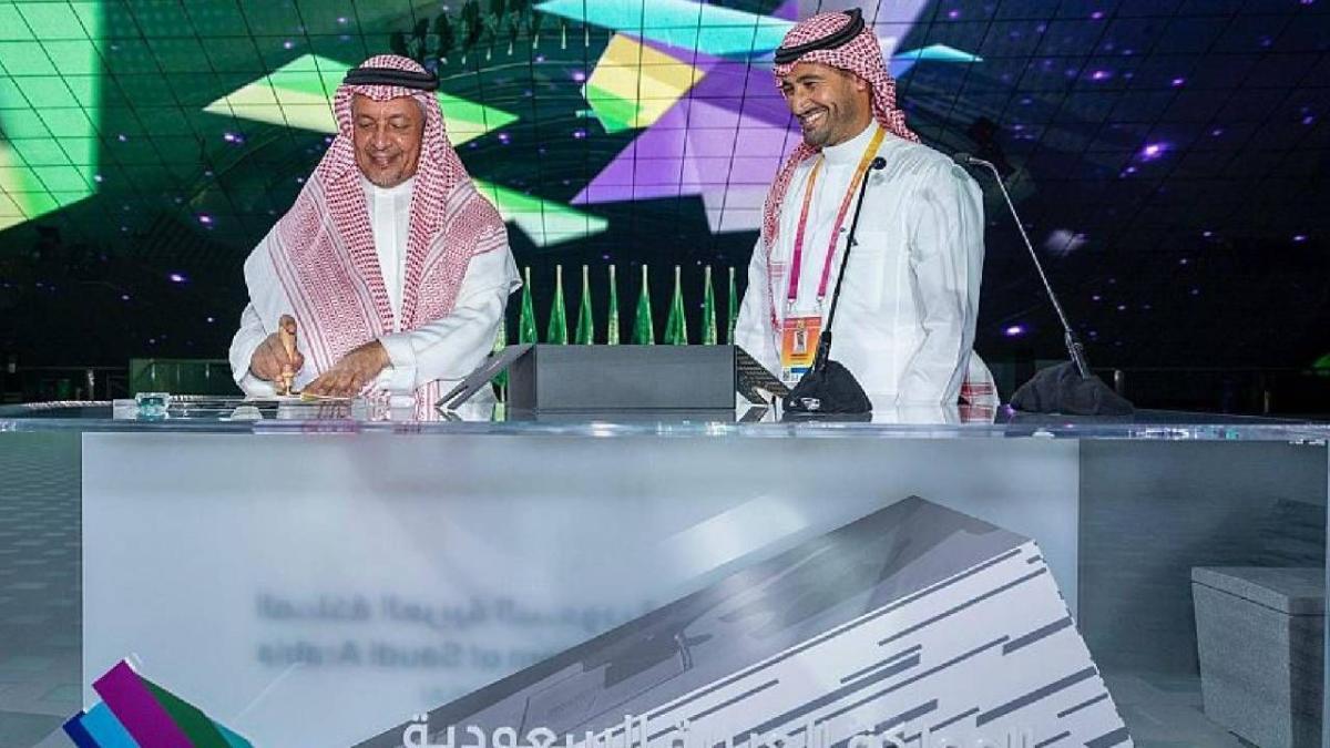 يستمر حتى مارس المقبل.. تدشين أعمال الجناح السعودي في «إكسبو 2020 دبي»