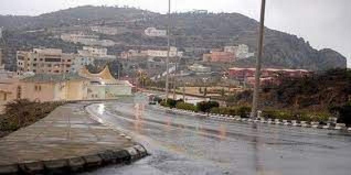 """""""الأرصاد"""": هطول أمطار غزيرة على منطقة جازان حتى الـ 7 مساءً 9:33 صباحًا6 أكتوبر, 2021"""