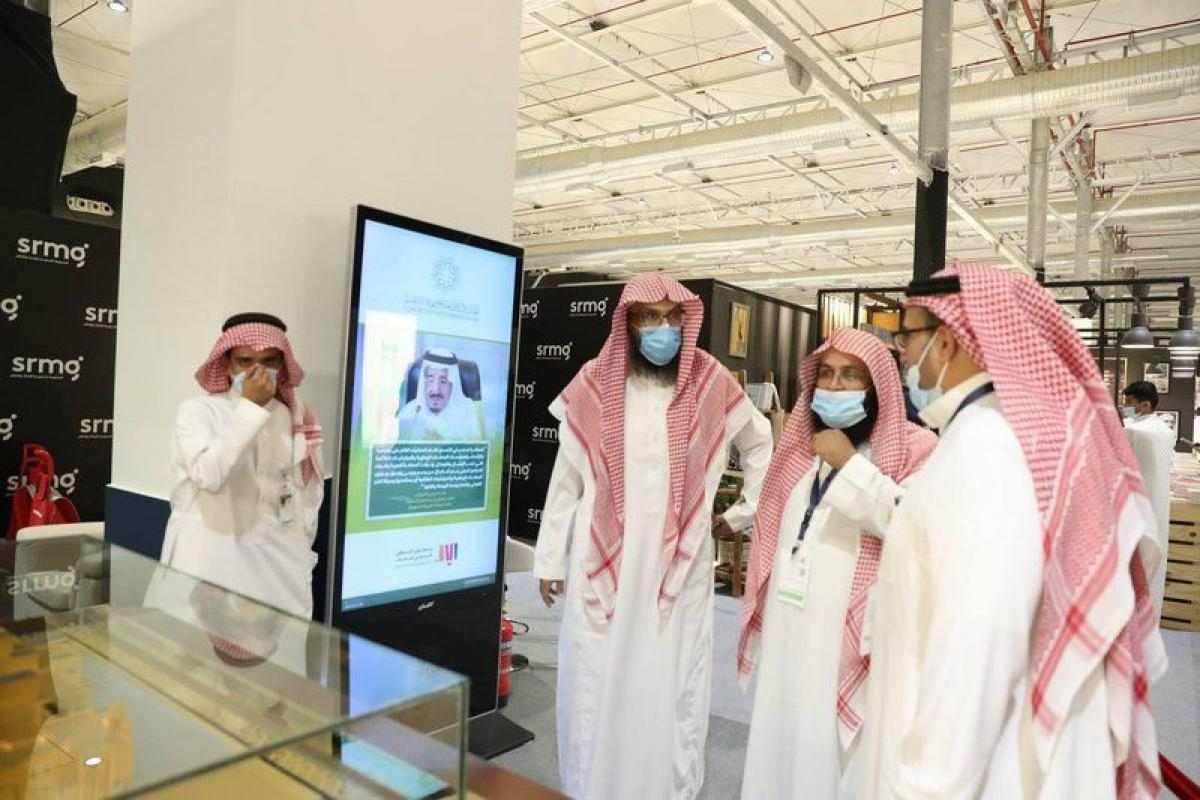 """""""الشبانات"""" يزور معرض الرياض الدولي للكتاب"""