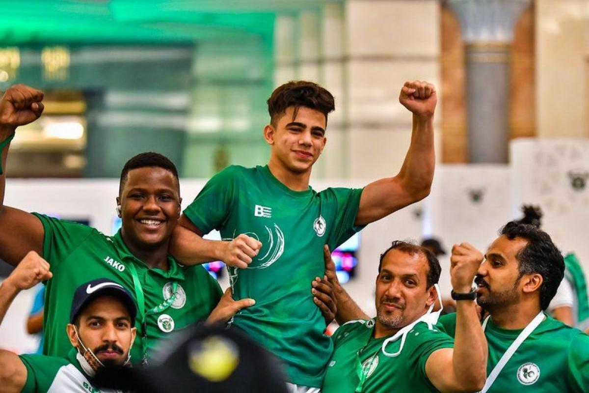 """الرباع السعودي """"مجيد"""" يحقق الفضية.. في بطولة العالم للشباب"""