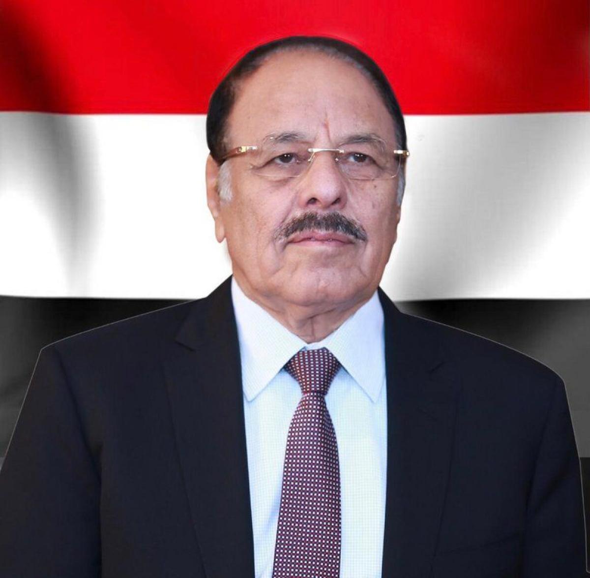"""نائب الرئيس اليمني يستنكر استهداف """"الحوثي"""" للأعيان المدنية في الس"""