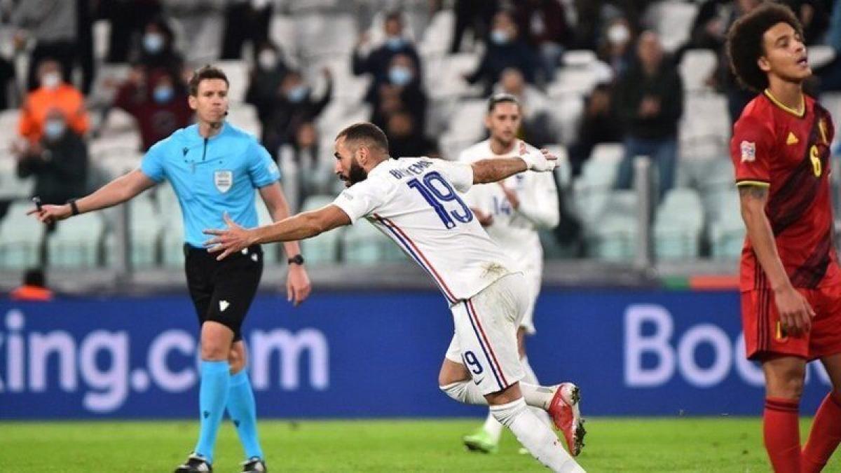 فرنسا تقلب الطاولة على بلجيكا وتتأهل لنهائي دوري الأمم