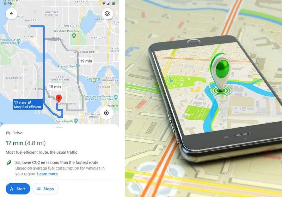 خرائط جوجل تقدم خدمة جديدة لتقليل استهلاك الوقود