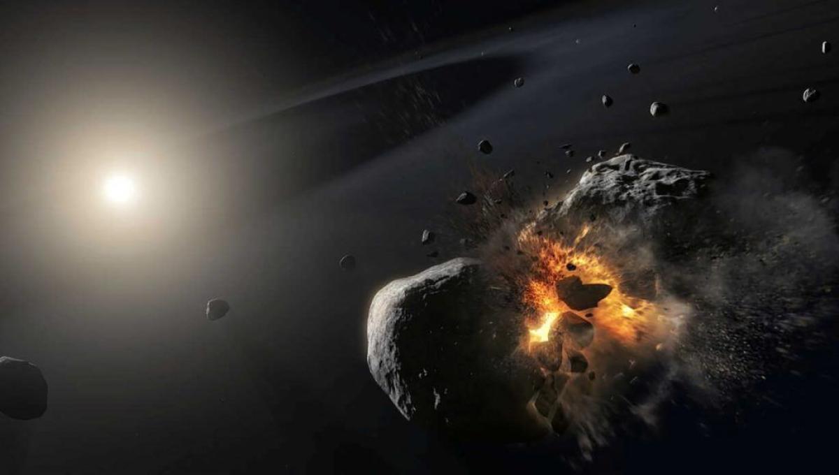 علماء فلك يحددون طريقة فعالة وآمنة لتدمير كويكب خطير يقترب من الأرض المناطق- وكالات: