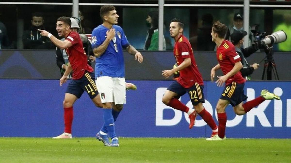 إسبانيا تبلغ نهائي دوري الأمم على حساب إيطاليا