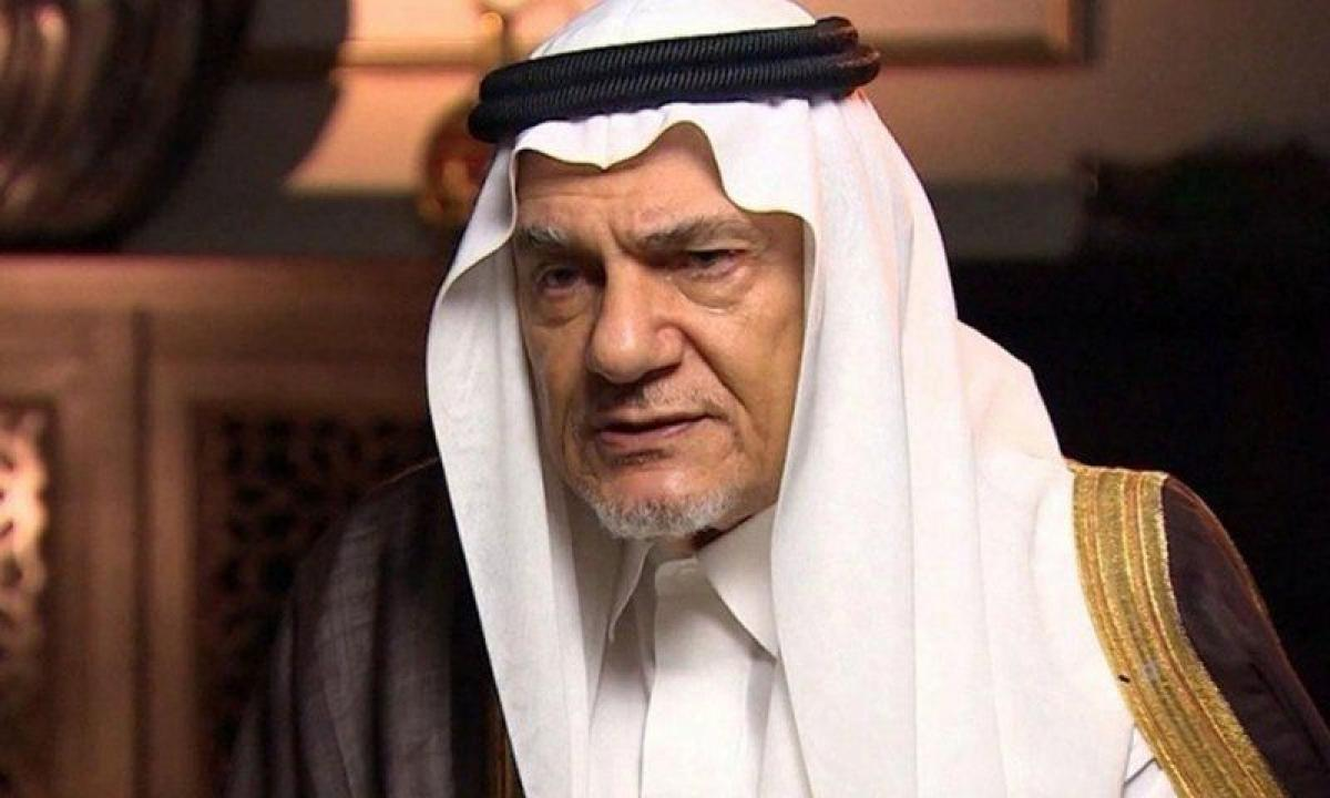 """""""تركي الفيصل"""" يدشن كتابه """"الملف الأفغاني"""" بمعرض الرياض الدولي للك"""