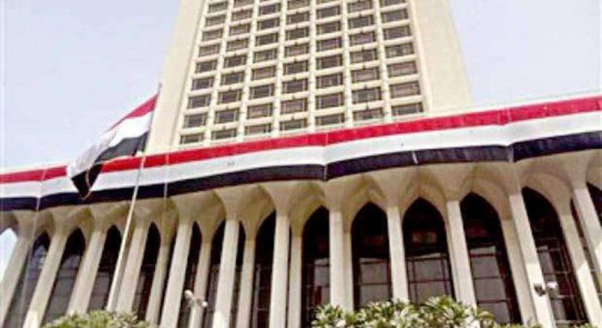 مصر تدين استهداف ميليشيا الحوثي مطار أبها الدولي بطائرة مُفخّخة