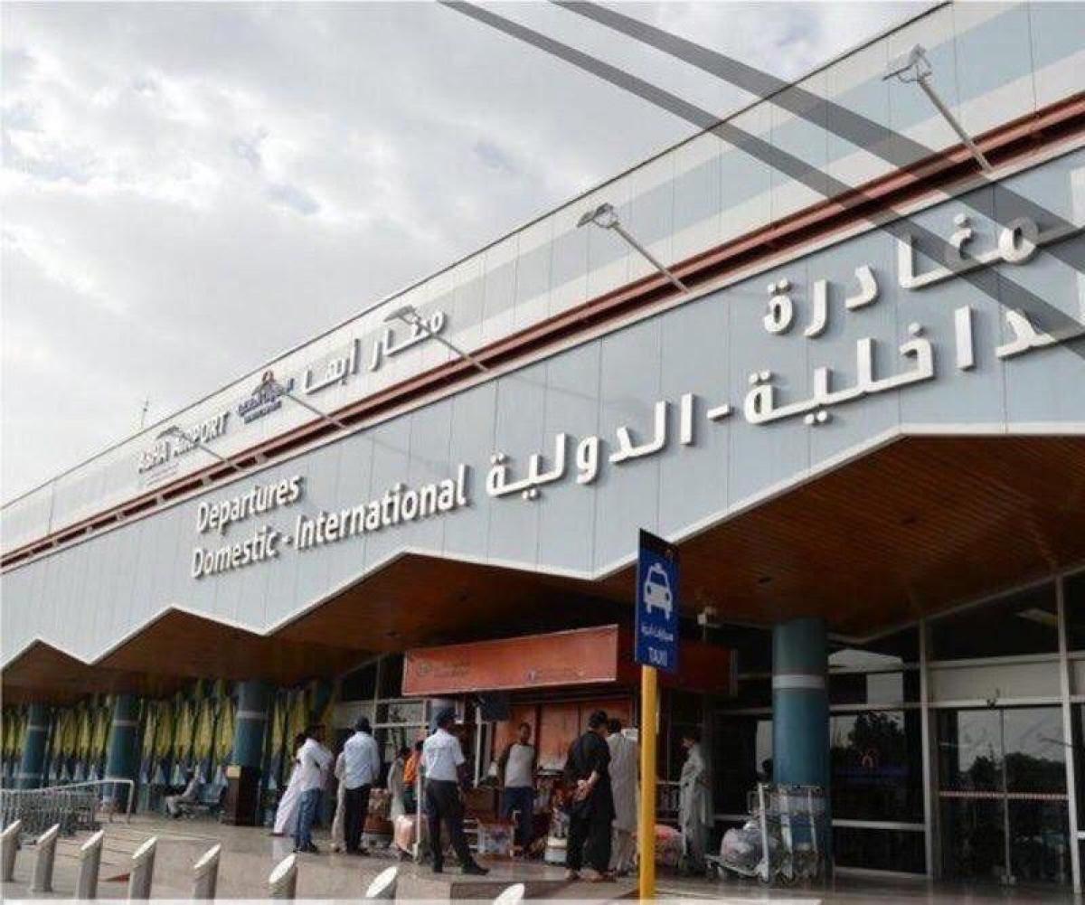 """""""مطار أبها"""" يكسر أنف """"الحوثي"""".. تدمير موقع للمسيّرات والحياة طبيع"""
