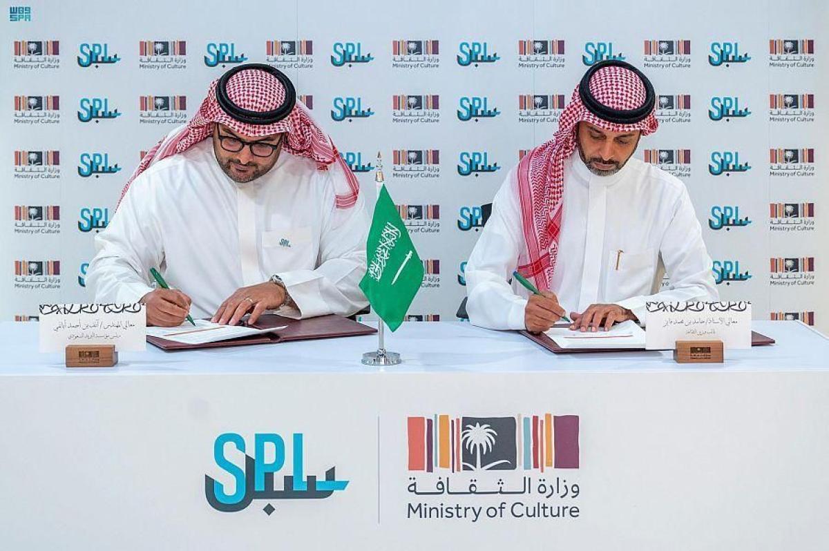 """وزارة الثقافة توقع مذكرة تعاون مع """"سبل"""" لتطوير الخدمات اللوجستية المشتركة 8:40 مساءً11 أكتوبر, 2021"""